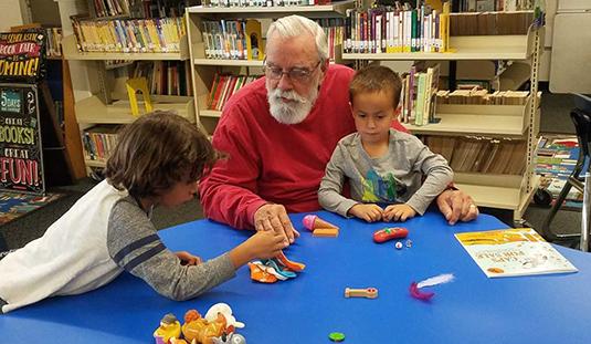 Family Reading Program, Peavine Library, Nevada