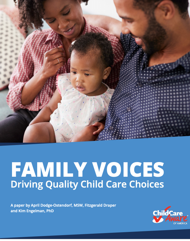 Family Voices Driving Quality Child Care Report