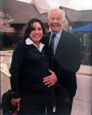 Lynette Fraga and Dr. Berry Brazelton