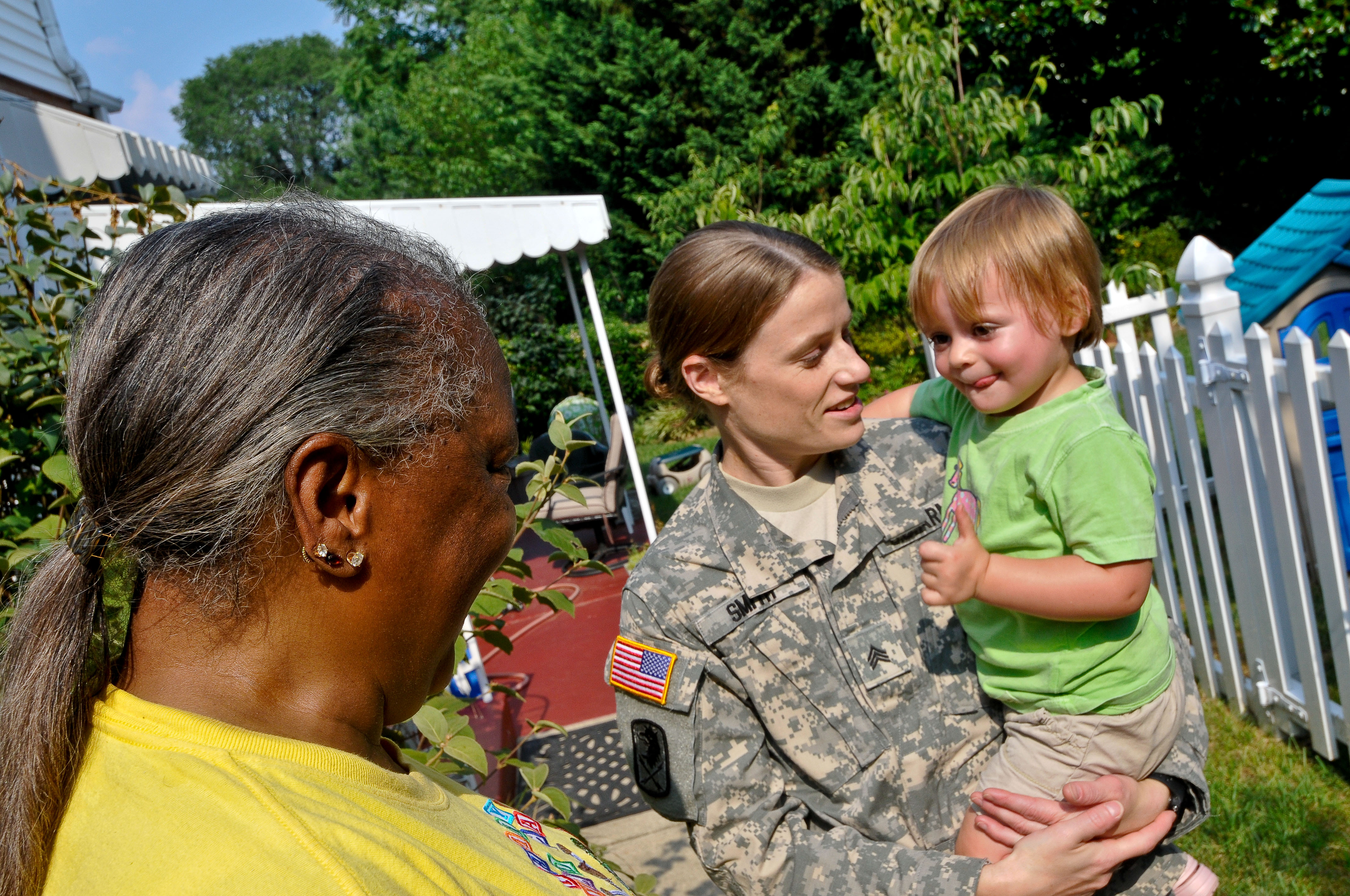 military families and child care providers