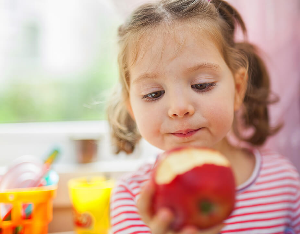 child-apple