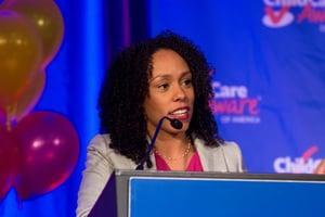 """Children deserve quality, no matter where they receive their care,"" Dr. Myra Jones-Taylor"