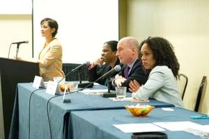 Symposium Raising of America panel
