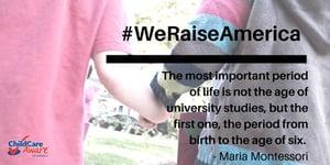 #WeRaiseAmerica
