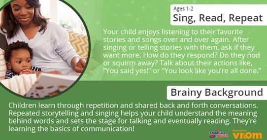 Sing, Read, Repeat FB