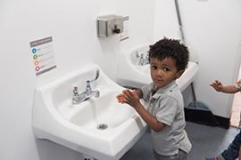 Helping Children Wash Their Hands