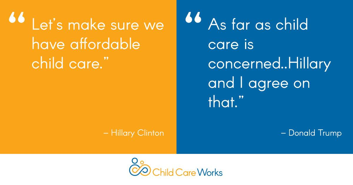 Child Care Mentioned Early On In First Presidential Debate