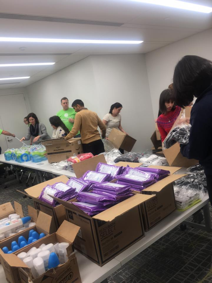 Partnering to Send Care Packages to Puerto Ricans