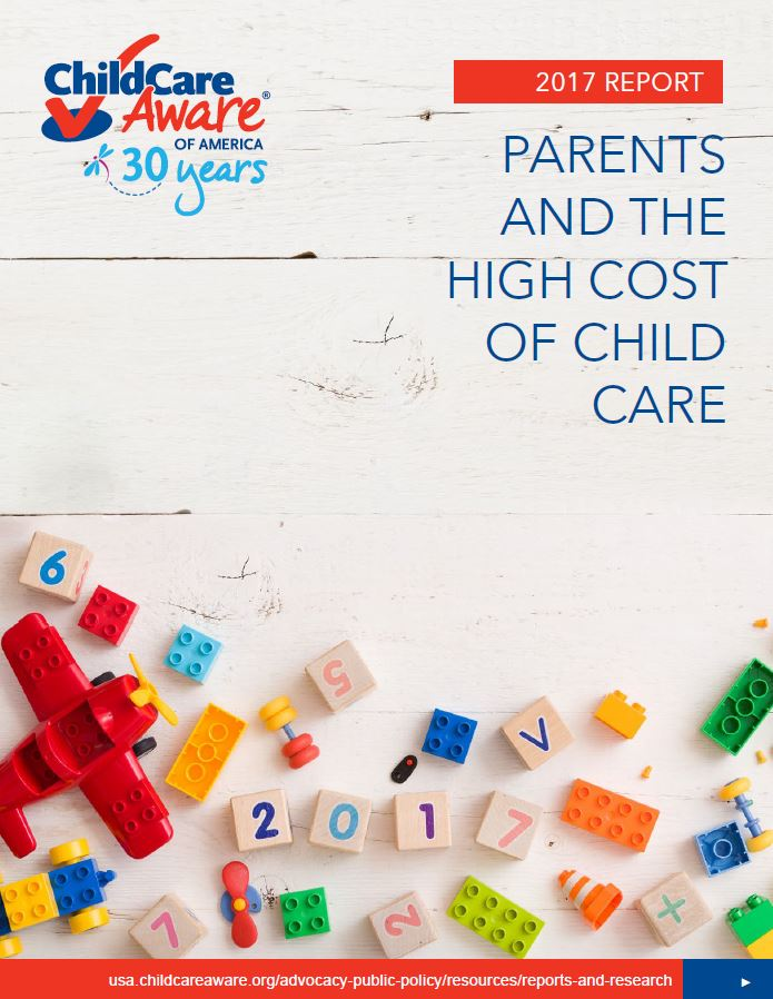 Report Shows Child Care Outpaces Nearly All Other Family Expenses Nationwide