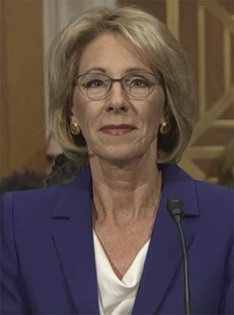 Senate Confirms Betsy DeVos
