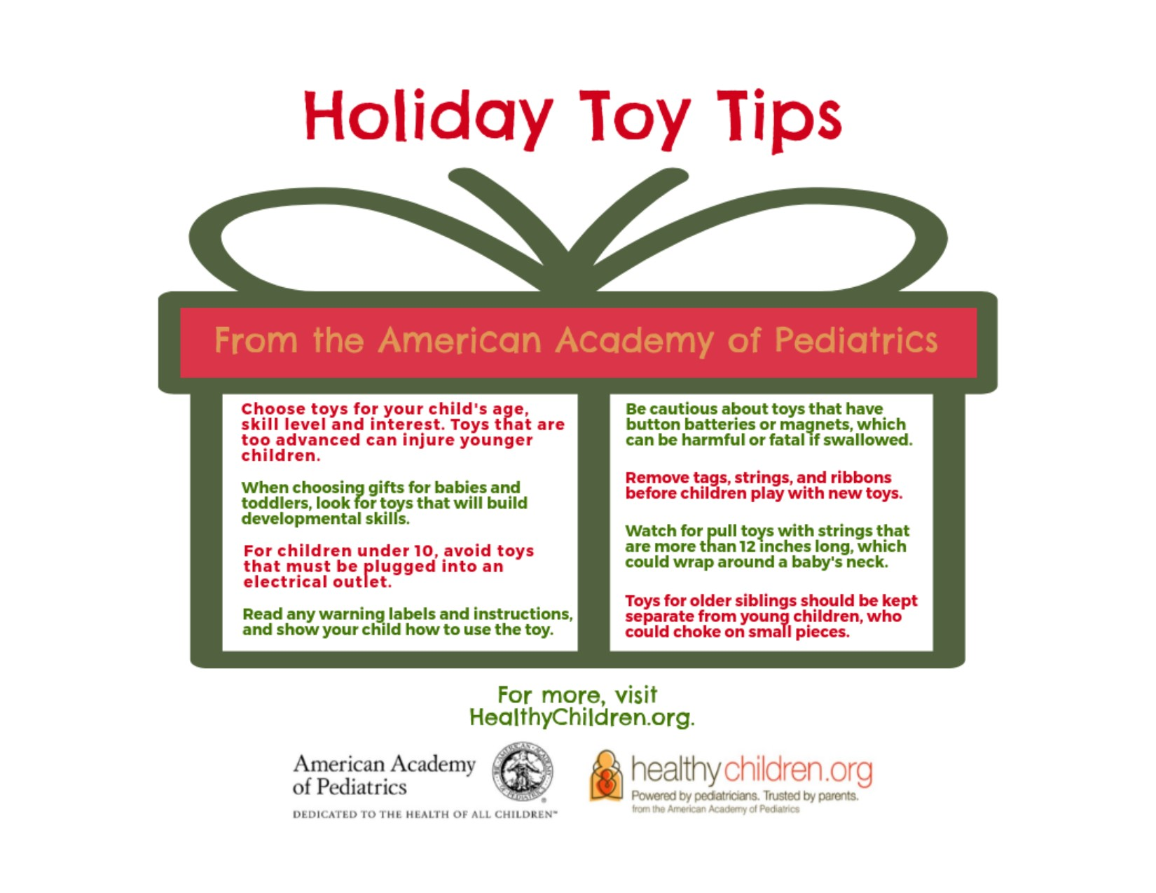 Toy Safety: Making Safe Choices This Holiday Season So Children Can Have Fun