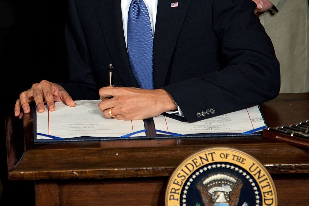 The 114th Congress Ends and President Obama Signs His Final Bills Into Law