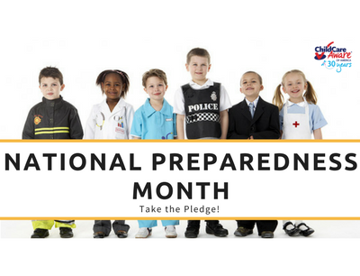 National Preparedness Month – Take the Pledge!