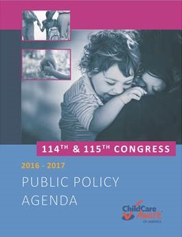 CCAoA Public Policy Agenda—A Bright and Bold Future for Child Care