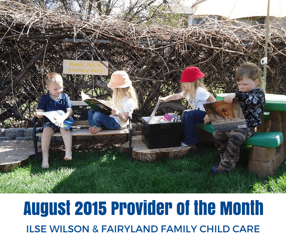 Ilse Wilson & Fairyland Family Child Care: August Provider of the Month