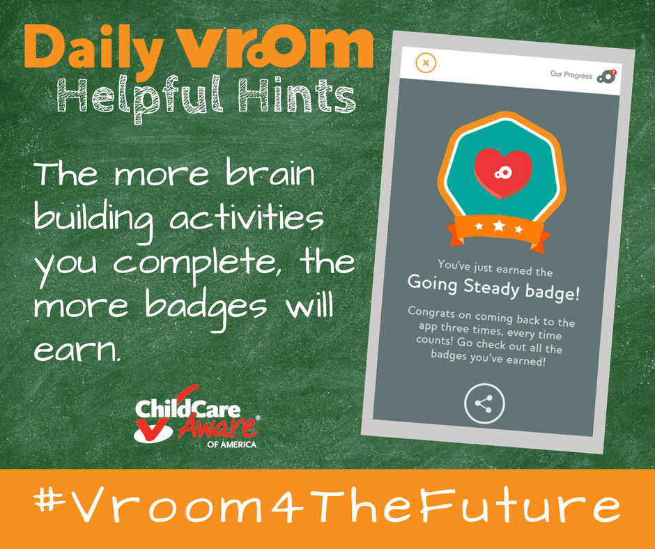 How Vroom Can Help Providers and Parents Have Fun While Brain Building
