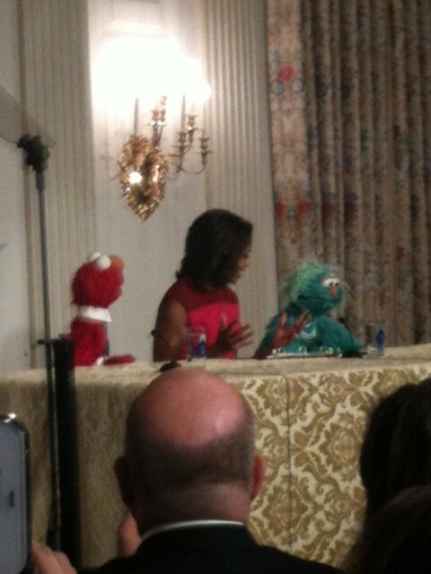 White House, Sesame Street Endorse Healthy Options for Children