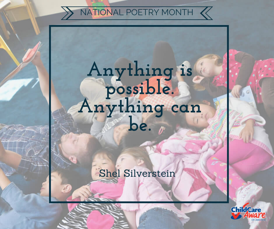Why National Poetry Month is Important for Children