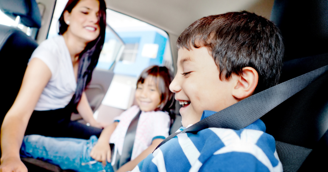 Keeping Kids Safe in Parking Lots and Driveways